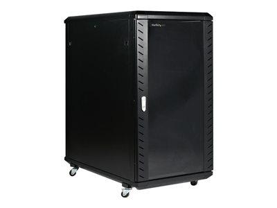 startech rack de serveur non assemble 22u 36 avec roulettes in rk2236bkf achat vente baie. Black Bedroom Furniture Sets. Home Design Ideas